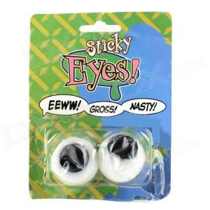 sticky eyes