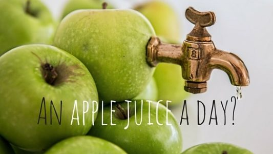 An apple juice a day-