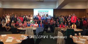 The SMACCmini superheroes